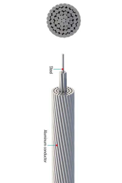 Aluminum Conductors Steel Reinforced (A.C.S.R)